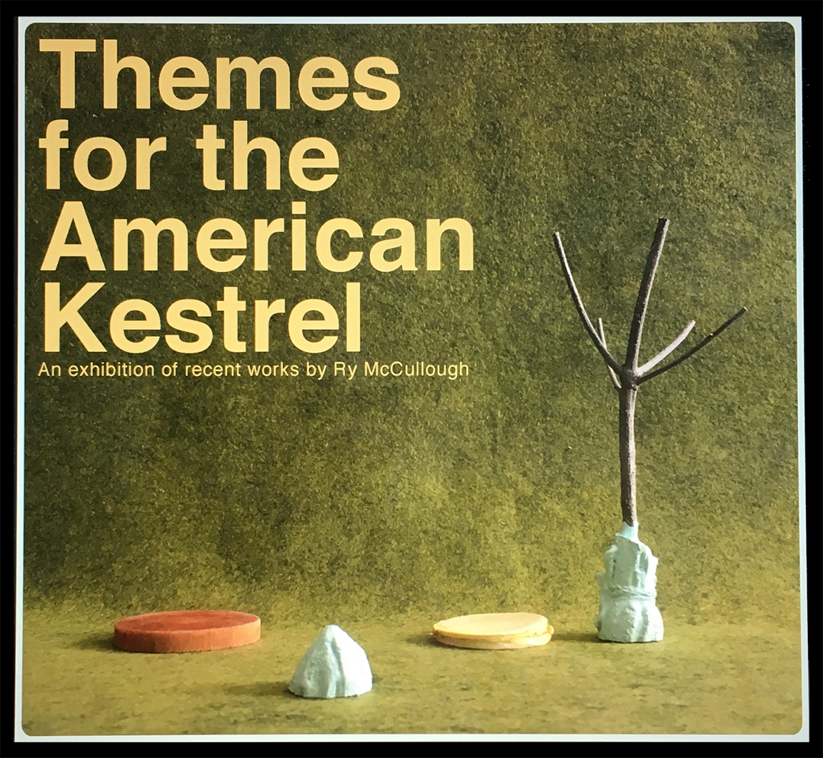 Themes for the American Kestrel Cover Art