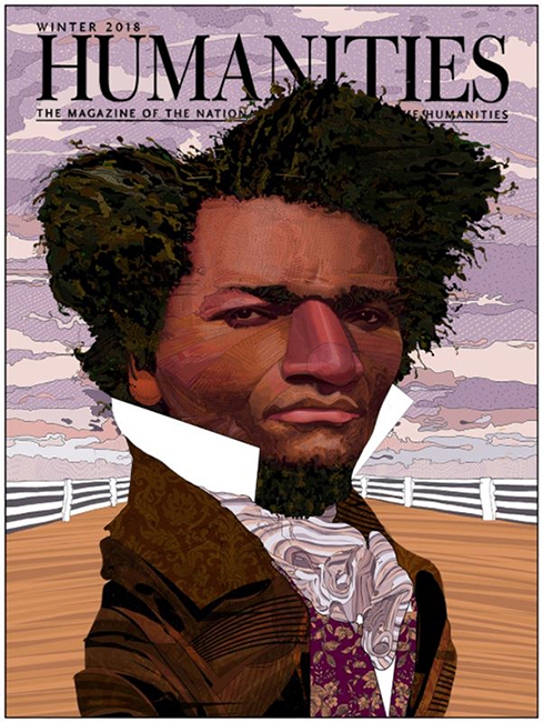 Young Frederick Douglas - Humanities Magazine Cover