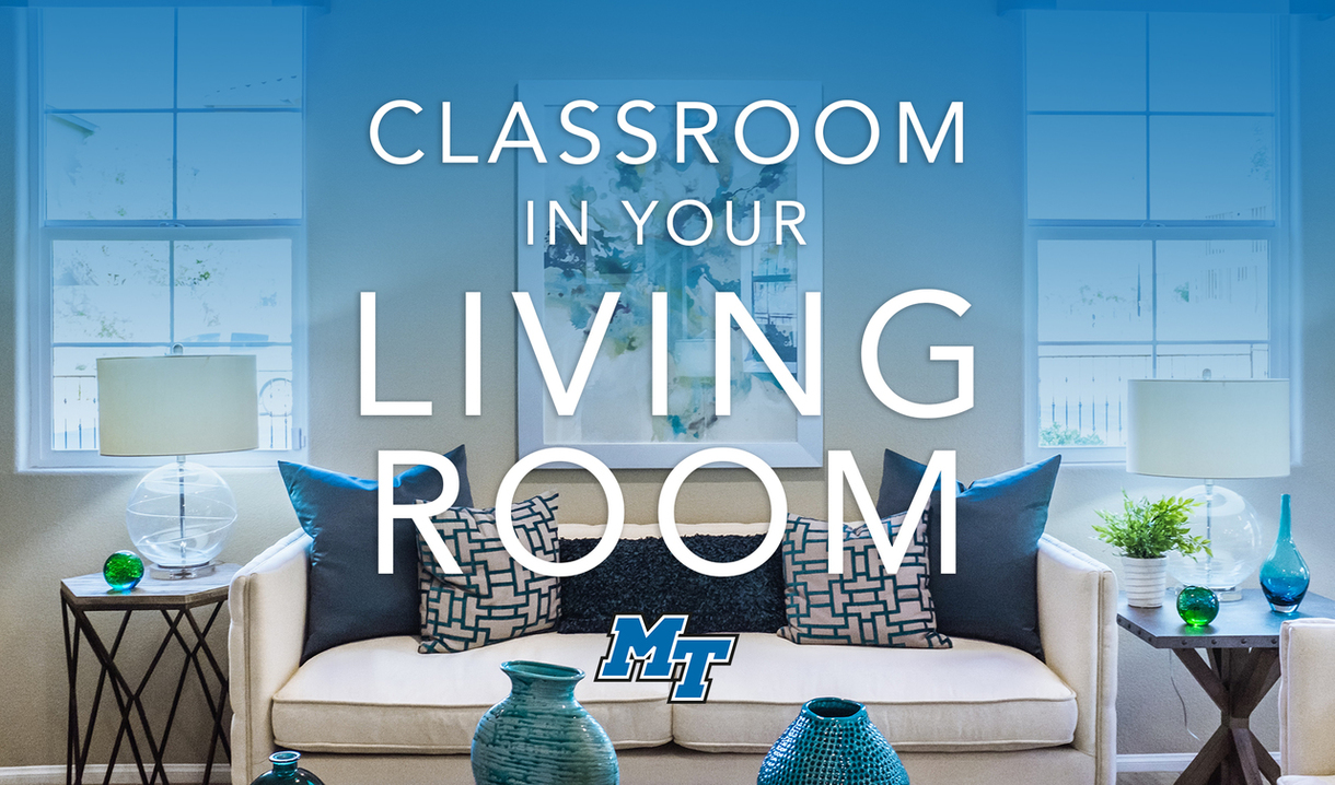 Classroom in your Living Room