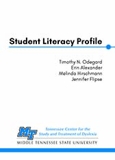 Student Literacy Profile