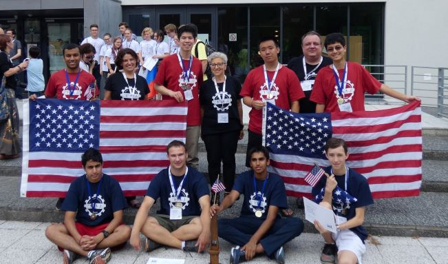 Dr. Blackwell with 2018 International Luinguistics Olympiad