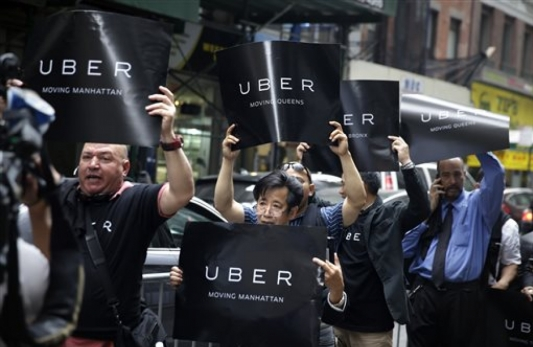 2nd Circuit panel upholds New York ad bans inside Ubers and Lyfts
