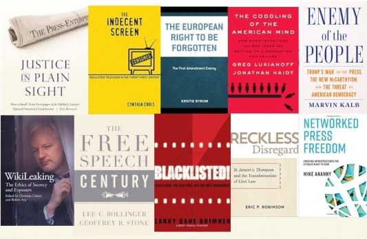 Ronald Collins: 20 new or forthcoming books related to The First Amendment