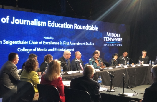 The Future of Journalism Education Roundtable, October 2017 (video and report)