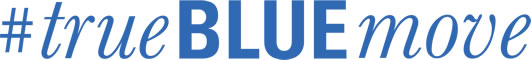 true blue move logo