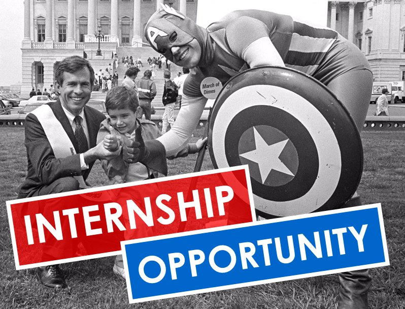 bart gordon internship opportunity