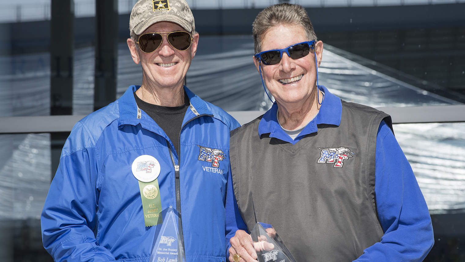 Bob Lamb and Bud Morris at the 2016 Salute to Veterans