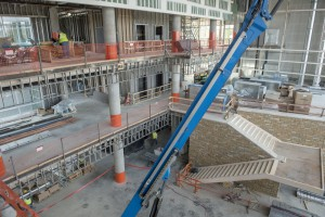 Construction continues on MTSU's new Science Building