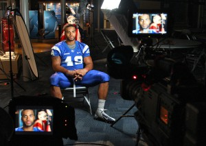 ESPN's Gameday was in town in the fall to interview Blue Raider freshman Steven Rhodes.