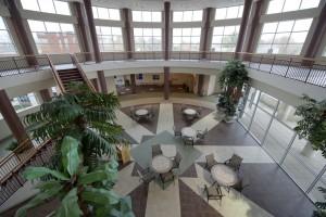 Interior of the Bell Street Medical Center
