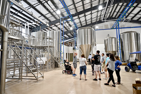 Hop Springs, MTSU fermentation science program celebrate grand opening