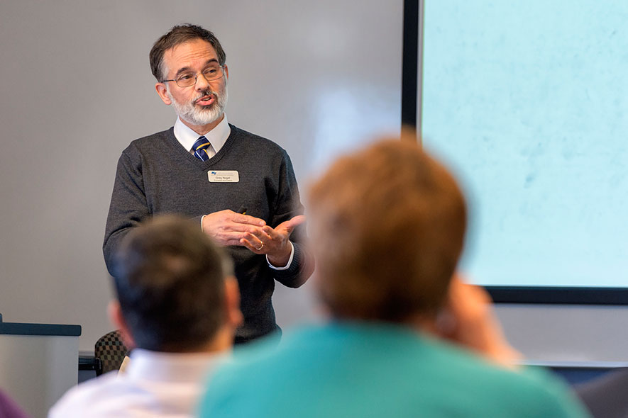 Nagel draws on GM corporate work for teaching, research
