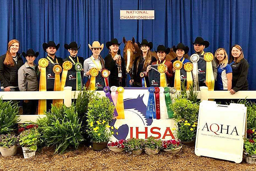 Equestrian, Stock Horse and Horse Judging Teams