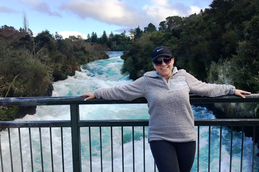 Brooke Culver in New Zealand