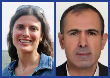 Dr. Z. Demet Kirbulut and Dr. Bilal Gunes headshots