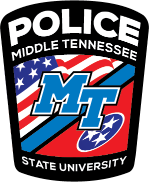 MTSU Police Patch